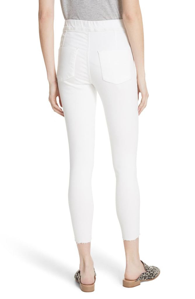 Yieldings Discount Clothing Store's Easy Goes It Jeggings by Free People in White
