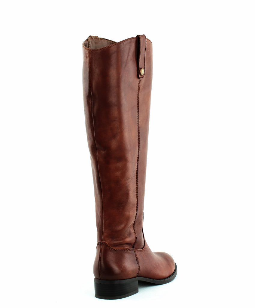 INC | Fawne Wide Calf Leather Riding Boots