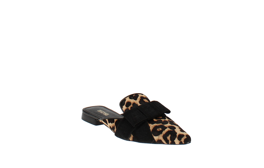 Yieldings Discount Shoes Store's Ames Slides by MICHAEL Michael Kors in Natura/Black