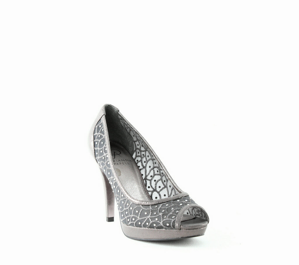 Yieldings Discount Shoes Store's Foxy Dress Pumps by Adrianna Papell in Gunmetal