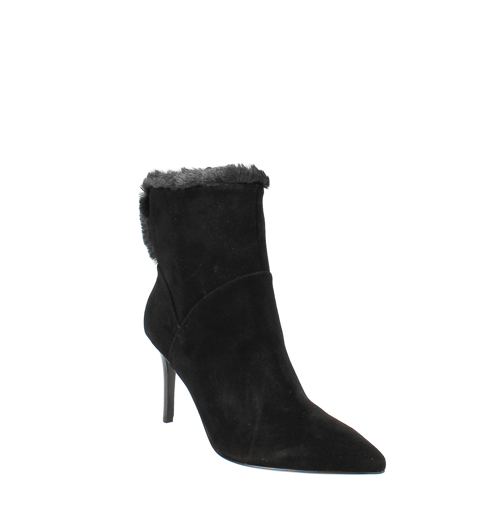 Yieldings Discount Shoes Store's Fhani Dress Booties by Nine West in Black