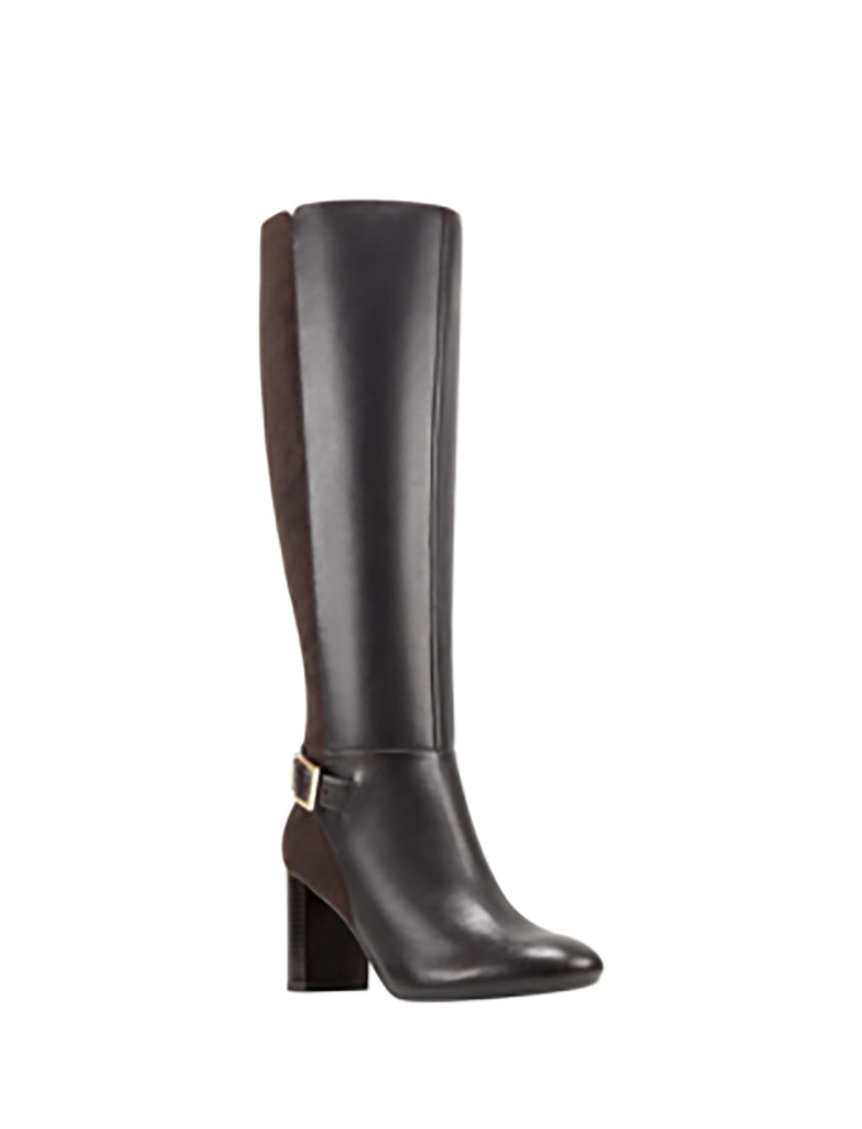 Yieldings Discount Shoes Store's Honesty Knee High Boots by Anne Klein in Black