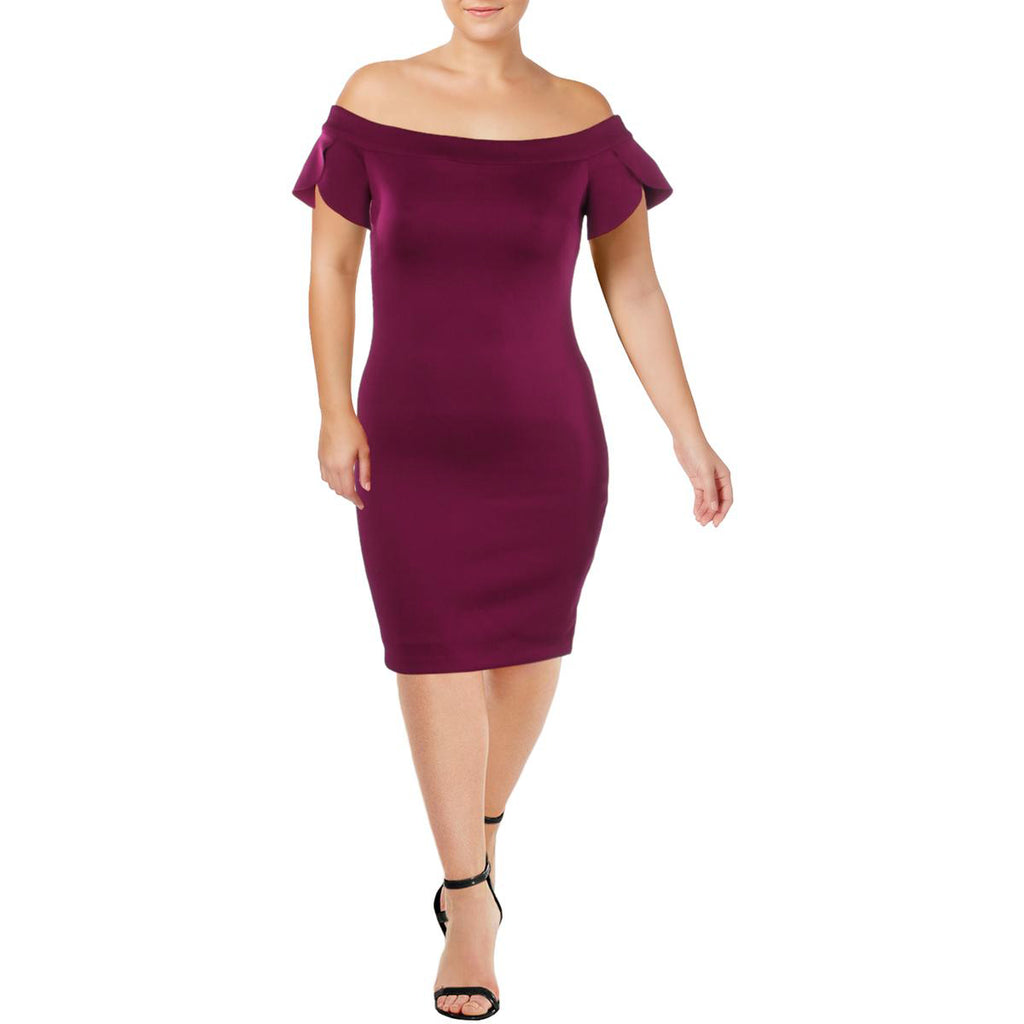 Guess | Molly Off-The-Shoulder Mini Bodycon Dress