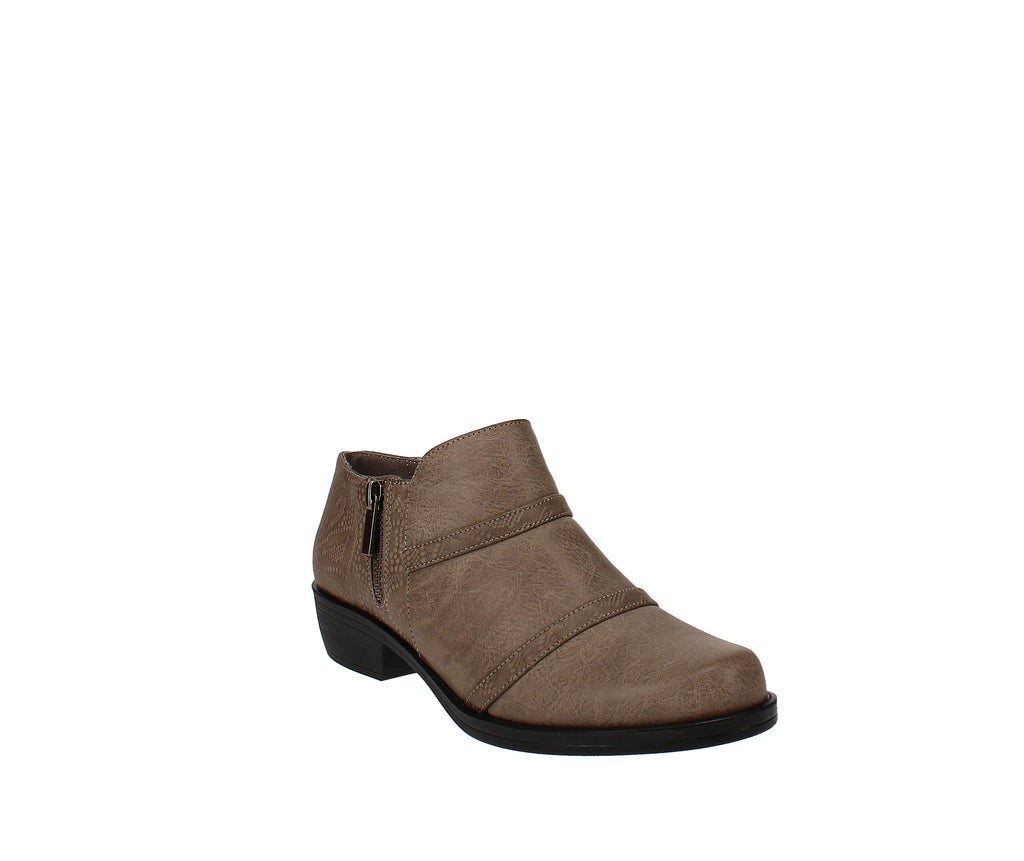 Yieldings Discount Shoes Store's Ira Comfort Shooties by Easy Street in Taupe