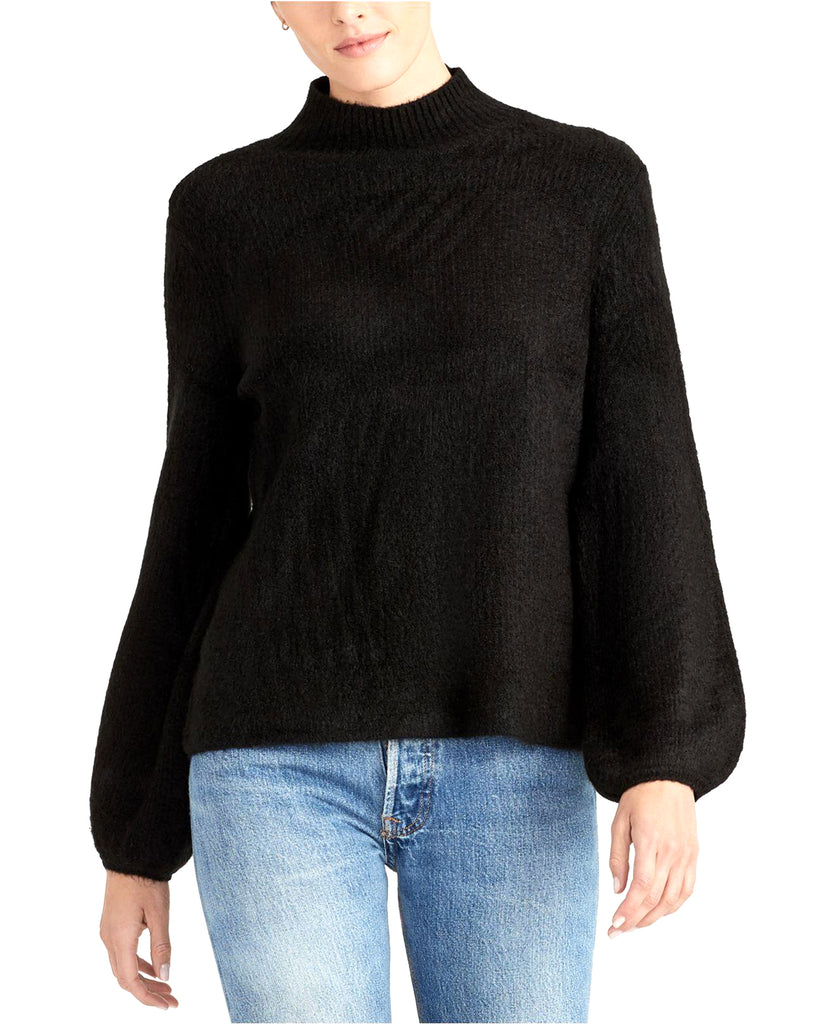 Yieldings Discount Clothing Store's Ribbed Turtleneck Sweater by RACHEL Rachel Roy in Black