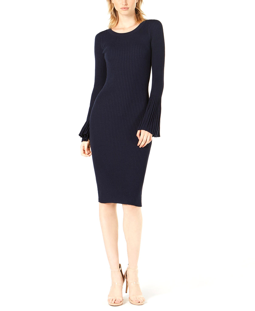 Bar III | Bell-Sleeve Sweater Dress