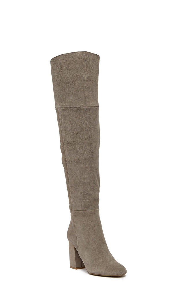 Yieldings Discount Shoes Store's Corie Lace Fashion Boots by Reaction Kenneth Cole in Concrete