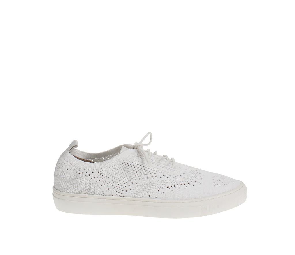 Yieldings Discount Shoes Store's Dionne Sneakers by Seven Dials in White
