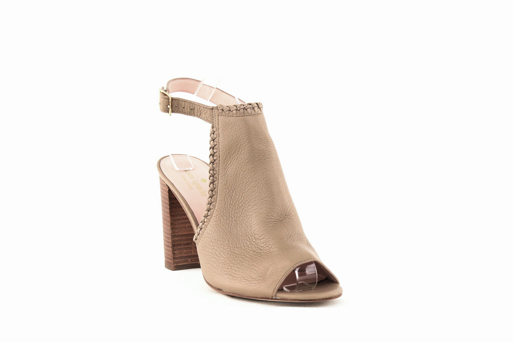 Yieldings Discount Shoes Store's Orelene Block Heel Sandals by Kate Spade in Pale Taupe
