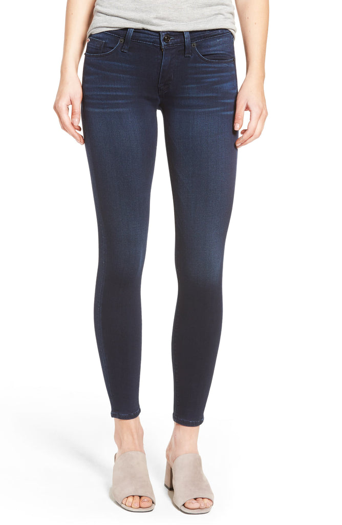 Yieldings Discount Clothing Store's Krista Ankle Super-Skinny Jeans by Hudson in Recruit