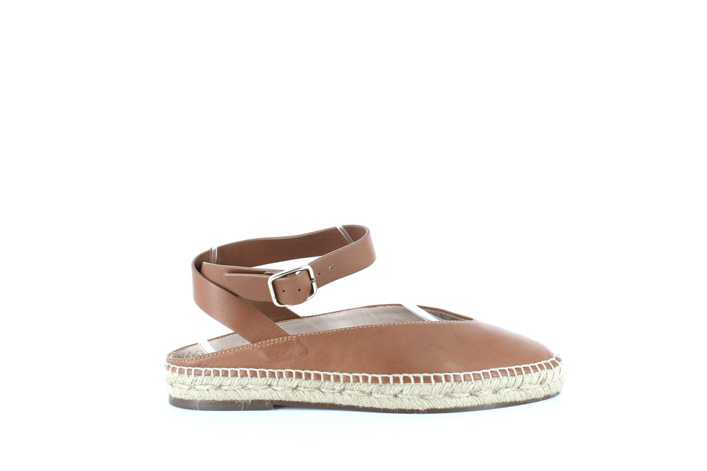 Yieldings Discount Shoes Store's Toga Espadrille Flats by Stuart Weitzman in Cuoio