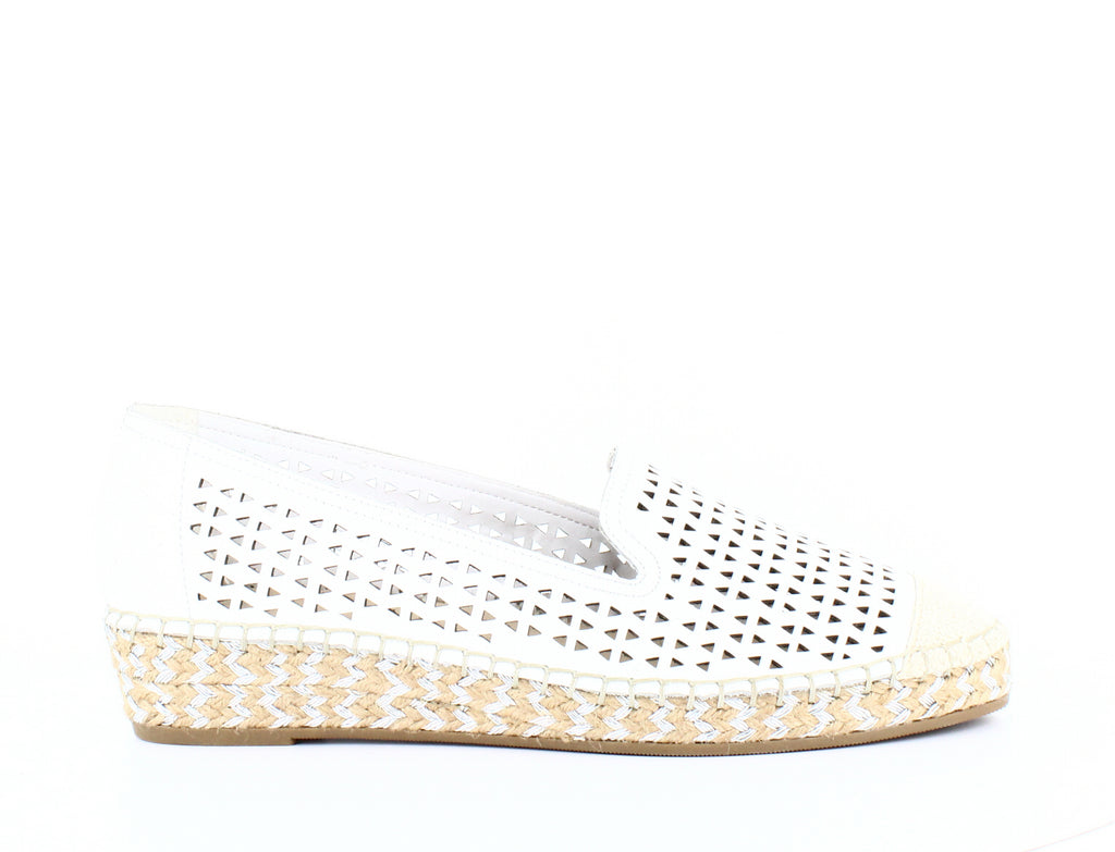 Yieldings Discount Shoes Store's Channing Flat Espadrilles by Bella Vita in White