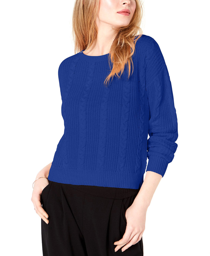 Maison Jules | Cable-Knit Bow Sweater