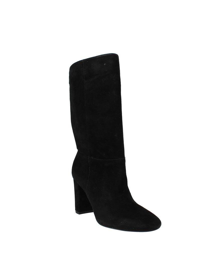 Yieldings Discount Shoes Store's Artizan Dress Boots by Lauren by Ralph Lauren in Black