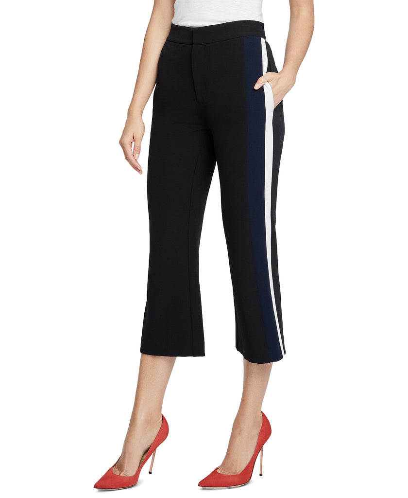 Yieldings Discount Clothing Store's Gwen Crop Pant by RACHEL Rachel Roy in Black