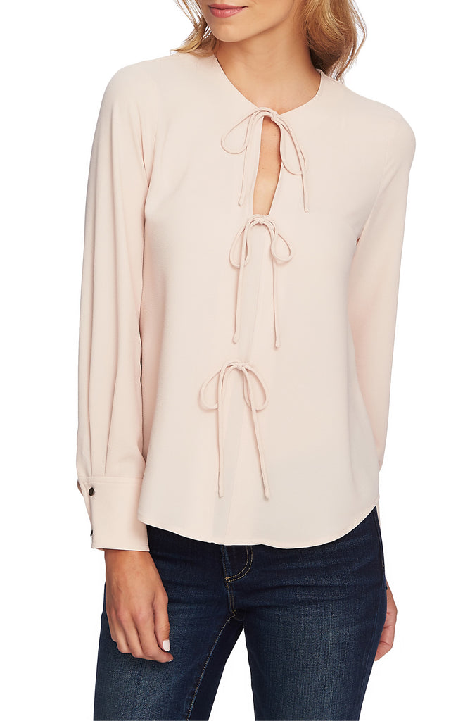 1.State | Bow-Ties Blouse