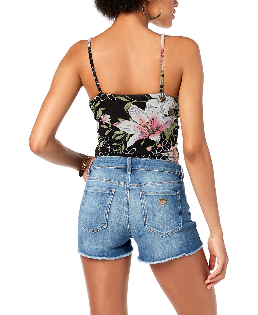 Guess | Odette Ruched Camisole Midnight Lily Print