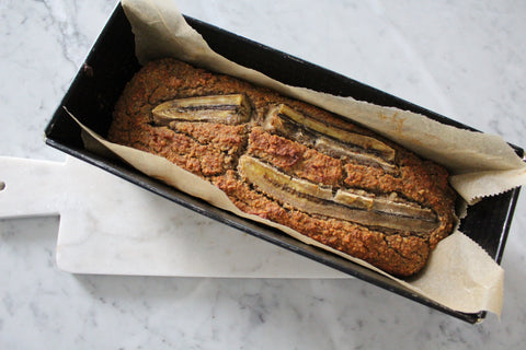 Banana Bread in Backform