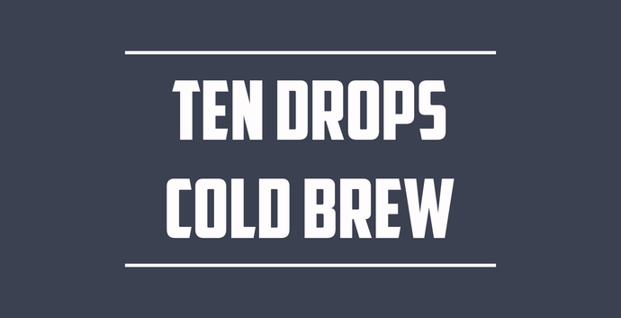 Ten Drops Cold Brew(Organic)