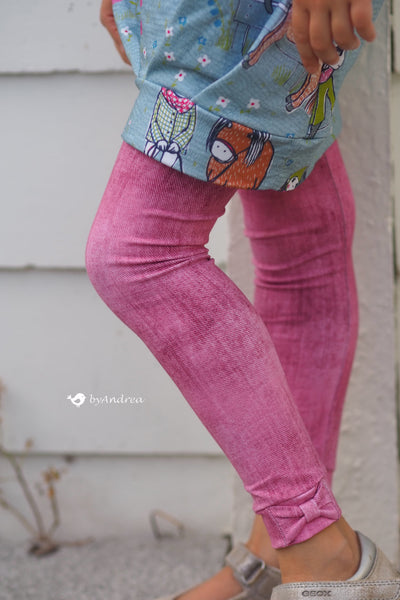 Ebook Leggings mit Schleifendetail