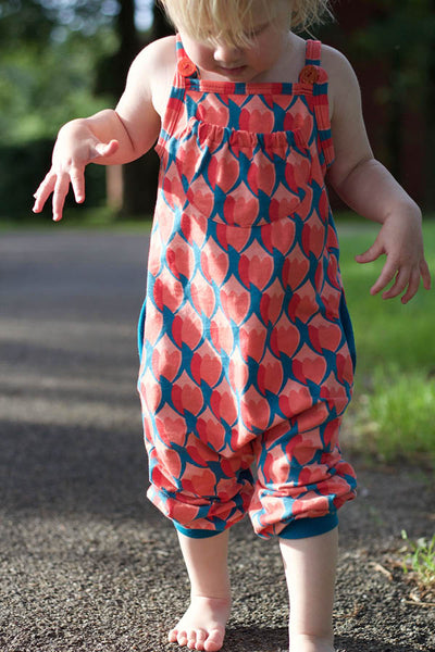 Jumpsuit Kinder Schnittmuster Retro