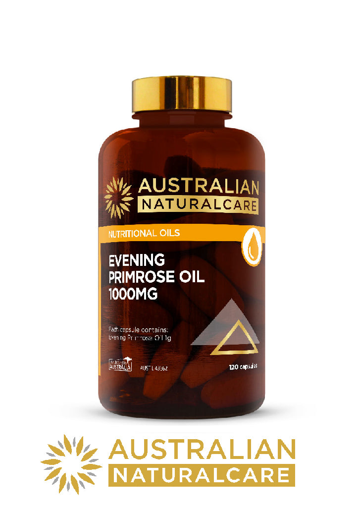 Australian NaturalCare Evening Primrose Oil Health Supplements Vitamins Relief BuyNatural