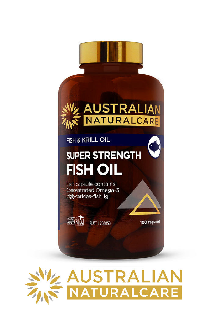 Australian NaturalCare Fish Oil Health Supplements Vitamins Relief BuyNatural