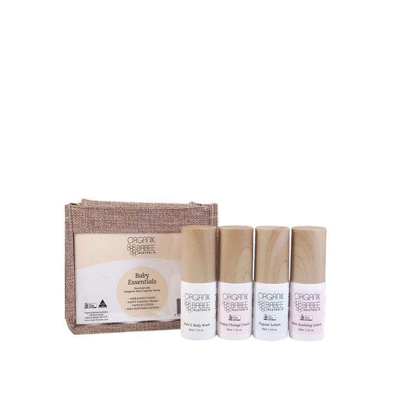 Organik Wellness Essentials Collection Baby Care Organic Nourishing Australian Skin Health BuyNatural