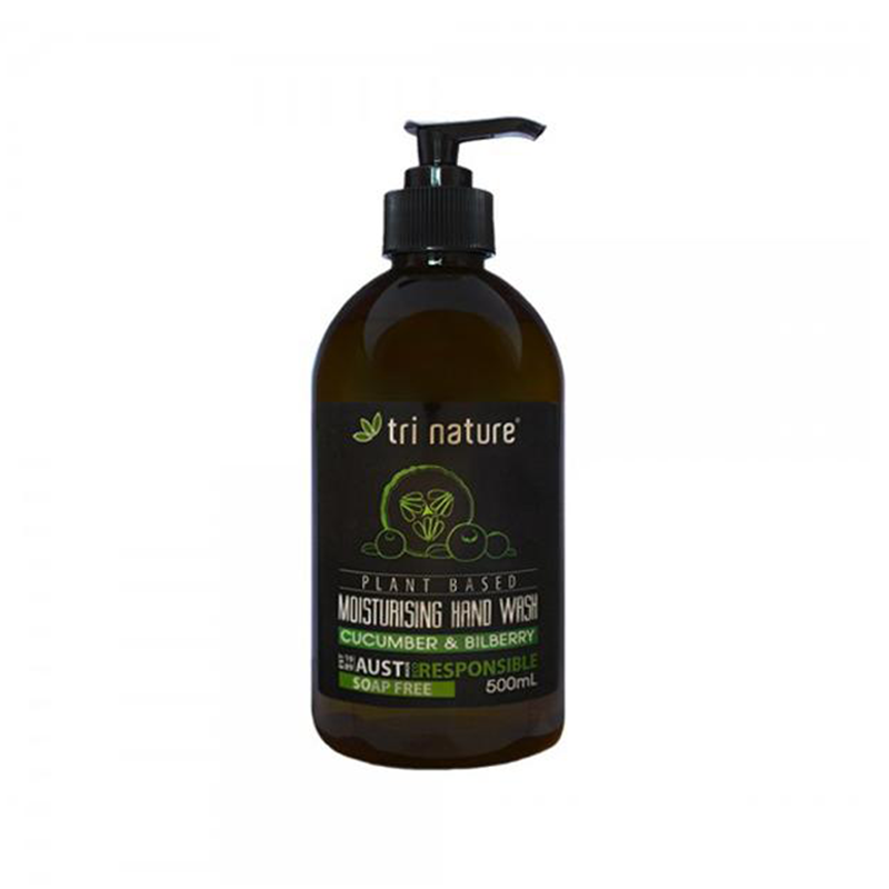 Tri Nature Hand Wash Cucumber Bilberry Natural Plant Based Eco Home Cleaner Friendly BuyNatural