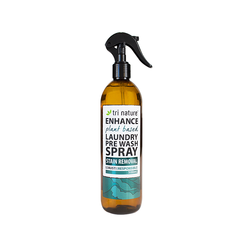 Tri Nature Laundry Pre Wash Spray Natural Plant Based Eco Home Cleaner Friendly BuyNatural