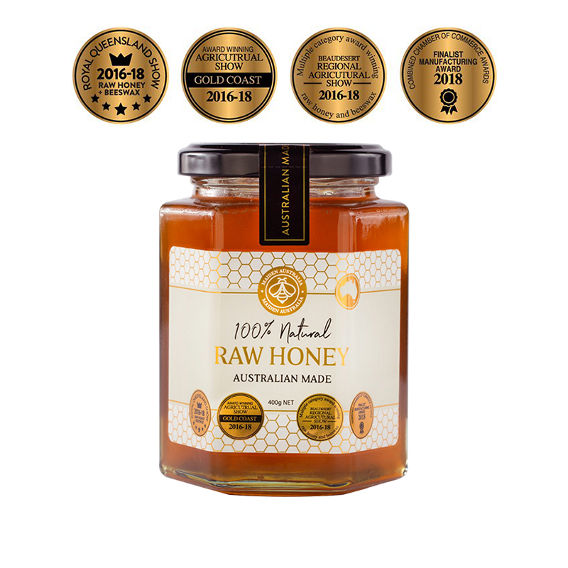Maiden Australia Raw Honey Large Premium Quality Natural Goodness Healthy Food Organic BuyNatural