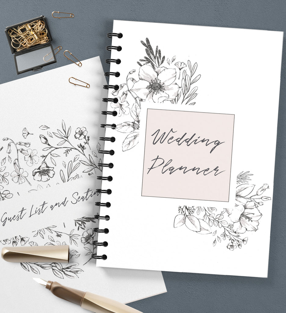 wedding planner Cover & Dividers