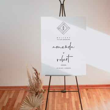 Giulia | Welcome To Our Wedding Sign