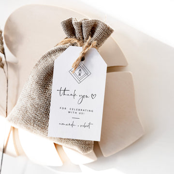 Giulia | Printable Wedding Favor Tags