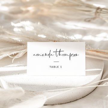 Giulia | Printable Wedding Place Cards