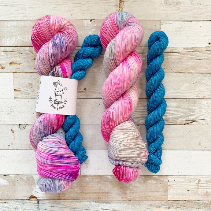 that one time in 2020 (pink leaning) | 4-ply sock set