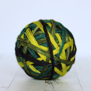 OOAK - self-striping | 4-ply sock