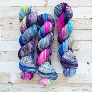 disco daydreams | 4-ply sock