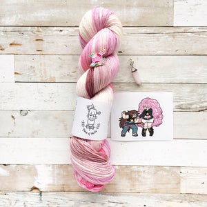 Rose Quartz - Steven Universe Mystery Yarn Club | extra kit