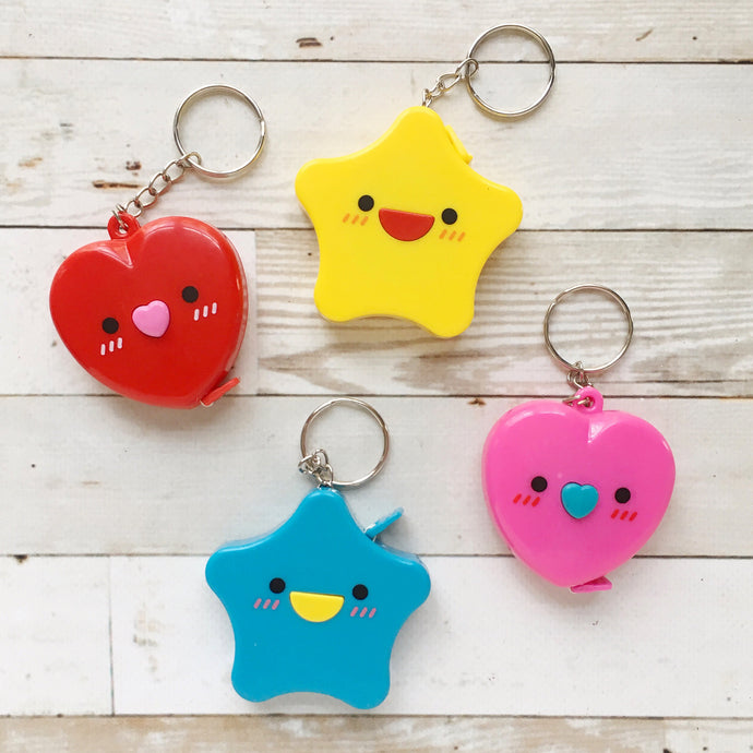 kawaii keychain retractable tape measure | notions