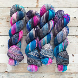 chaos cocktails | 4-ply sock