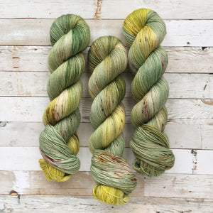 i'm green | 4-ply sock