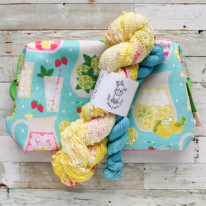 pucker up - summer is coming | yarn and bag kit
