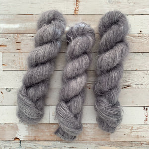 grey days | alpaca silk lace