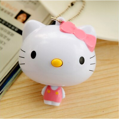 hello kitty keychain retractable tape measure | notions
