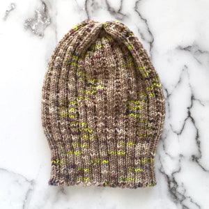 duality knit hat | hand knits