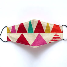 Load image into Gallery viewer, kokka triangles - pink | masks