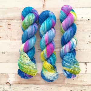 waterlilies | 4-ply sock