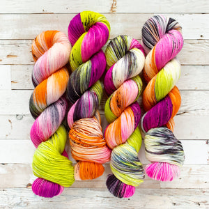 un-BOO-lievable | 4-ply sock