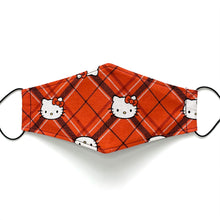 Load image into Gallery viewer, hello kitty - plaid | masks